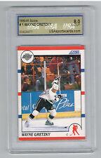 1990-91 WAYNE GRETZKY Score Hockey USA 8 NM-MT graded card Wayne Gretzky HOF