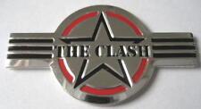 "CLASH / THE CLASH METALL AUFKLEBER / METAL STICKER # 13 ""LOGO"" - GEPRÄGT"