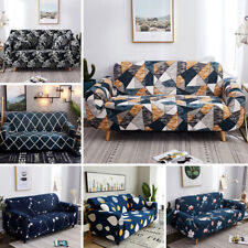 Printed Sofa Cover Stretch Couch Cushion Sofa Slipcovers for 1/2/3/4 Seater