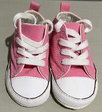 Converse Nuovo Nato Neonato Rosa il mio primo Star Baby