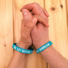 Cancer Research UK Charity Wristband - The Get Better Campaign