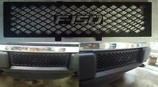 Powder Coated Black Lower Grill Insert For 2009-2014 Ford F150 New Free Shipping