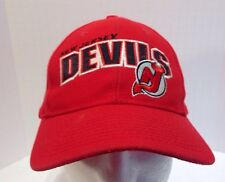 New Jersey Devils Sports Specialties Red Embroidered Snapback Hat Cap