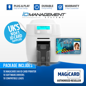 Magicard 300 ID Card Printer inc. Free Express Delivery