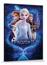 Die Eiskönigin Frozen 2 Elsa Anna Disney Poster Leinwand-Bild (80x60cm) #127751