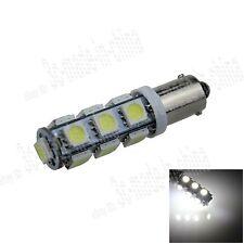 1X White BA9S 57 W6W 13 5050 SMD LED License Plate Light Map Bulb Lamp K003