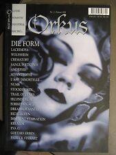 ORKUS 1999 # 2 - DIE FORM LACRIMOSA WOLFSHEIM CREMATORY SANGUIS ET CINIS AMORPHI