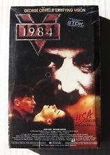 1984 ~ RARE Big Box VHS Movie ~ NEW Sealed ~ John Hurt Orwell Apocalyptic Horror