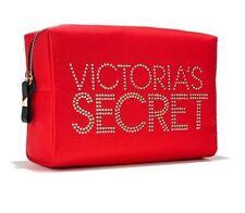 Victoria's Secret Large Stud Cosmetics Bag Red