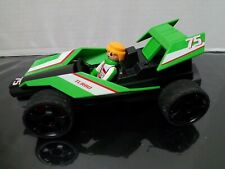 Playmobil Racing  Set, 5174 Fast  Wind Up Green Racing Rally Car Turbo Racer.