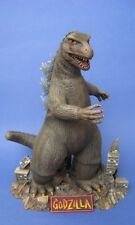 WHITE METAL JAW/UPPER MOUTH AND NAMEPLATE FOR AURORA/PL GODZILLA KIT