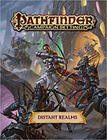 Pathfinder Campaign Setting: Distant Realms, Staff, Paizo, Excellent Book