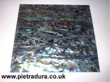 Abalone / paua shell placage stratifié 4 luthier incrustation 90 x 90 mm