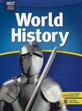 Holt World History by Burstein, Rinehart & Winston (Hardcover)