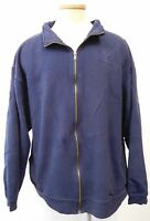 VNTG AIR FORCE NAVY BLUE ZIP UP SWEATSHIRT OARSMAN BRAND SIZE EXTRA LARGE GUC