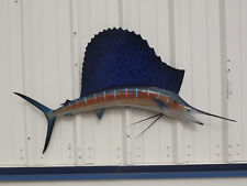 "52"" Sailfish Two Sided Fish Mount Replica"