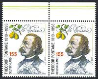 3508 postfrisch Paar waagerecht Rand oben BRD Bund Deutschland Briefmarke 2019