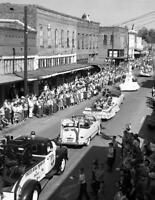 "1955 Parade for Fall Festival, Dexter, MO Vintage Old Photo 8.5"" x 11"" Reprint"