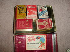 More details for vintage card games 1930's bobs yr uncle , vacuation  , astute , express ,victory