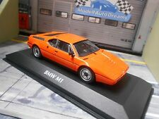 BMW M1 E26 Supersportwagen 1979 orange Maxichamps Minichamps 1:43