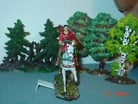 Römer Figur auf Pferd,  passend zu Germania und Elastolin Figuren , 7 cm !