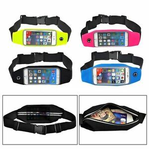Running Jogging Sports Gym Waist band Belt Case Cover Strap For galaxys10