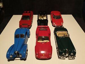 Modellautos Konvolut Set 1:24 Bburago Revell Sammlung Porsche Ferrari Jaguar...