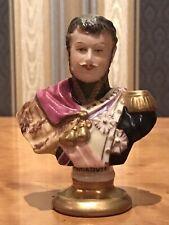 Porzellan-Figur Büste Kämmer Volkstedt General Poniatowski