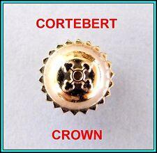 CORTEBERT Watch CROWN ROSE Gold Plated ORIGINAL - 5.60mm Diam. - TAP: 110 N.O.S.