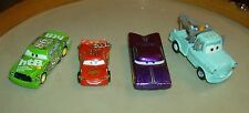 lot of (4) DISNEY PIXAR TOY CARS, tow truck, Impala, etc.