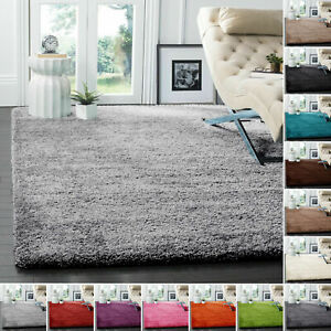 Thick Shaggy Large Rugs Hallway Rug Runner Non Shed Deep Pile Living Room Carpet