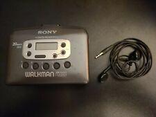 Vintage Sony Wm-Fx-421 Walkman Cassette Player Fm/Am Radio Tested