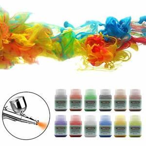Kit Pittura Colori Acrilici per Aerografo Modello Set base vernice Multicolore