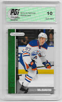 2015-16 Connor McDavid Green Parkhurst Rookie Card PR-1 PGI 10 Oilers
