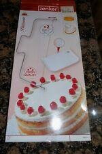 CAKE CUTTER LEVELLER LEVELER DECORATING WIRE SLICER CUTTING SCRAPER TOOL STEEL