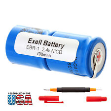 NEW 2.4V NiCD Razor Battery For Norelco 895RX, 950RX, HP1218 FAST USA SHIP