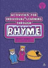 Activities for Individual Learning Through Rhyme,Christine Baillie, Wendy Bowket