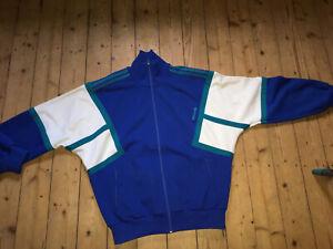 ADIDAS vintage Trainings Jacke Gr. M Made in France 70er