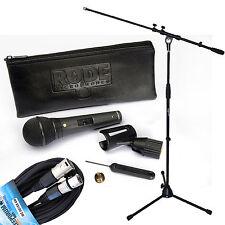 Rode M1-S Mikrofon + Keepdrum Mikrofonkabel + Keepdrum Mikrofonständer
