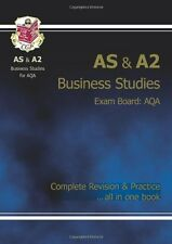 AS/A2 Level Business Studies AQA Complete Revision & Practice for exams until ,