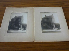 2 1930s Photos of House & Couple with Child, Negatives & Receipts, Gravesend