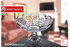 Clear Glass ROUND Footed Fruits BowlDish Centerpiece Candy Compote KOHAN Trifle