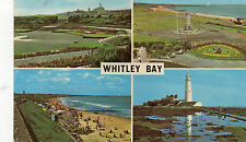 Postcard  Northumberland Whitley Bay  posted