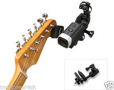 GHM-1 Guitar Headstock Mount for Zoom Q4/Q8 / Action Cameras