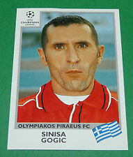 N°187 GOGIC OLYMPIAKOS PANINI FOOTBALL CHAMPIONS LEAGUE 1999-2000