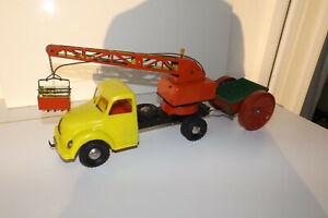 Magirus Deutz LKW-Ladekran Michael Seidel MS Toys 1200 Blechspielzeug Blech Kran