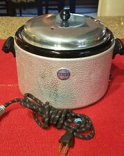 Vintage Servhot Electric Crock Pot Warmer Slow Cooker with Lid - Works great!