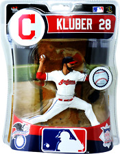 Corey Kluber Cleveland Indians MLB Imports Dragon Baseball Action Figure 6""