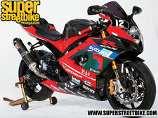 05-06 GSXR 1000 Jomo Racing Fairings as seen in Super StreetBike Magazine K5 K6
