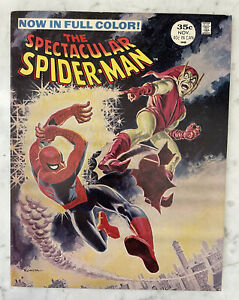 SPECTACULAR SPIDER-MAN #2-MAGAZINE-1968-PETER DISCOVERS GOBLINS IDENTITY VF 8.0
